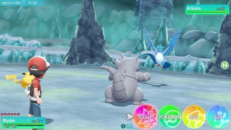 Pokemon Let's Go, Pikachu Eevee gameplay
