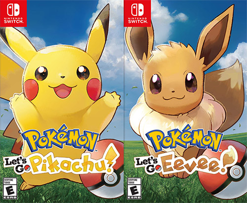 Pokemon: Let's Go, Pikachu/Eevee!