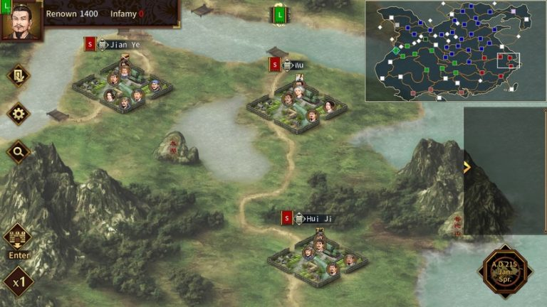 Three Kingdoms The Last Warlord gameplay